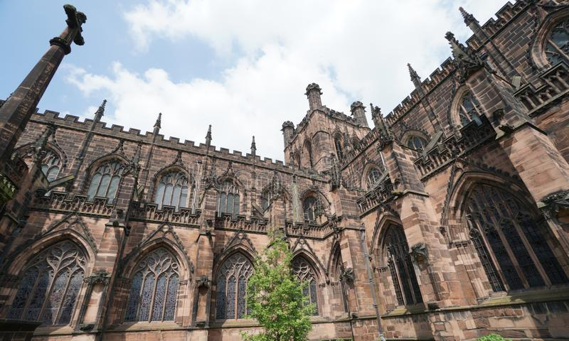 Chester Cathedral, Chester R-U photographie stock