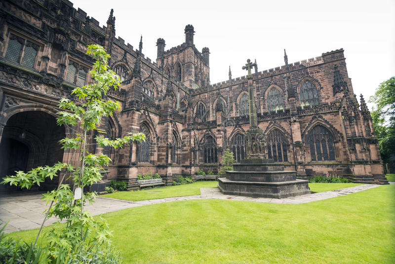 Download Chester Cathedral stock image. Image of style, english - 41836823