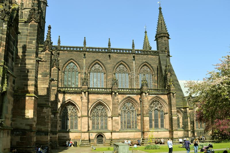 Chester Cathedral imagen de archivo