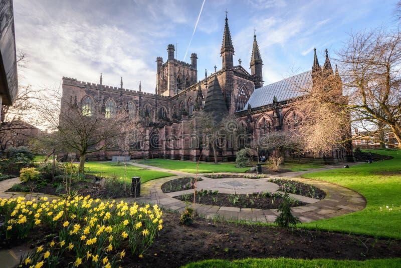 Chester Cathedral Uk image libre de droits
