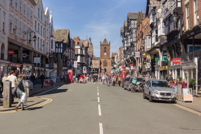 Chester City England fotografía de archivo libre de regalías