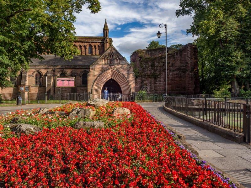 Chester City England R-U images stock
