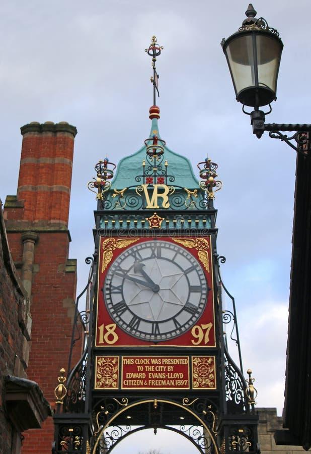 Chester Clock Tower imagen de archivo libre de regalías