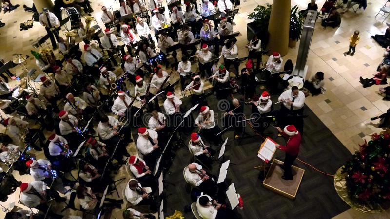 Chester County Concert Band 2017 Holiday Concert stock photos