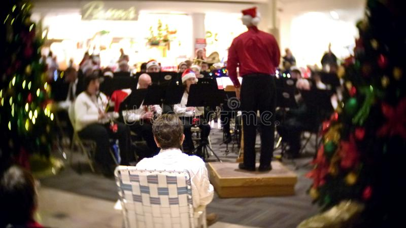 Chester County Concert Band 2017 Holiday Concert stock photo