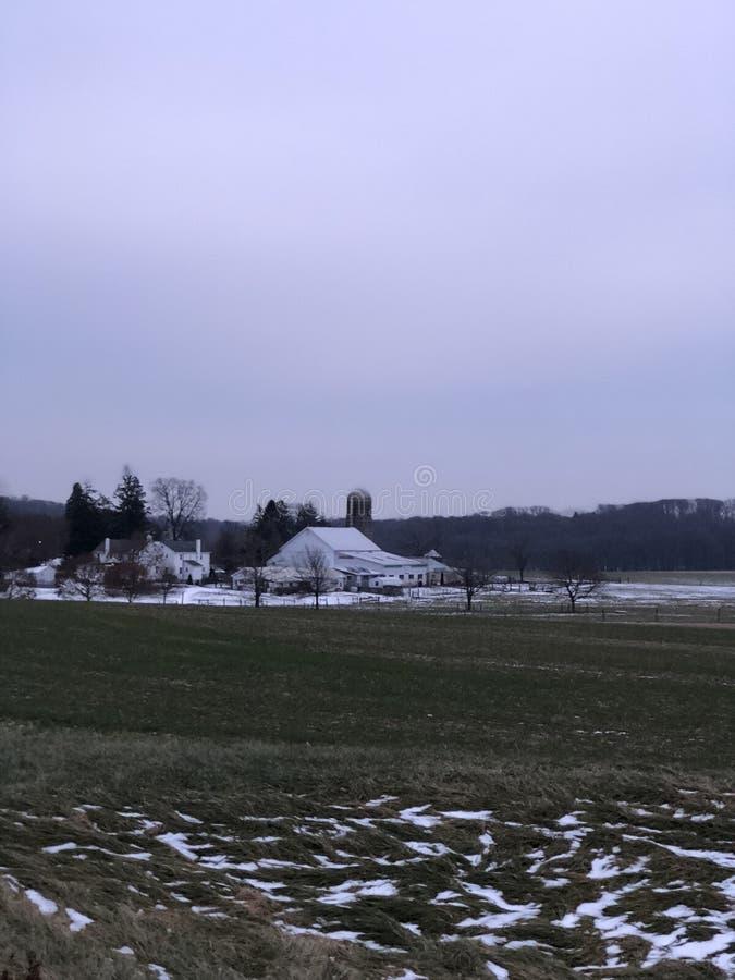 Chester County Pennsylvania photo libre de droits