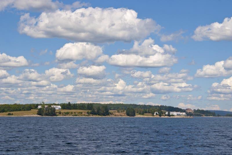 Chester Harbour in atlantischem Kanada lizenzfreies stockfoto