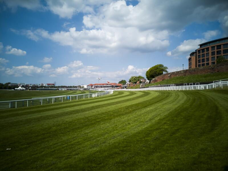 Chester Racecourse, Chester, United Kingdom royalty free stock images