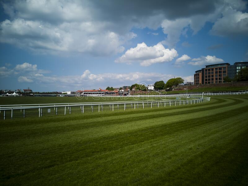 Chester Racecourse, Chester, United Kingdom stock images