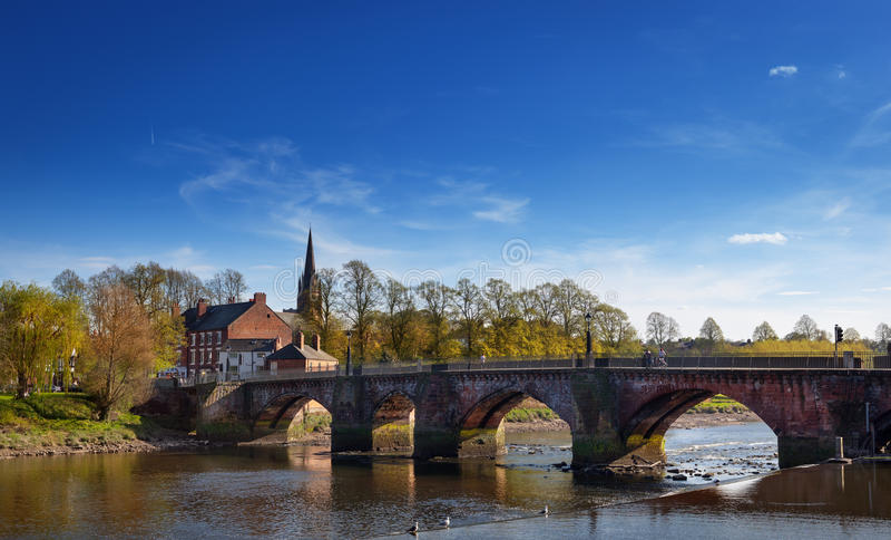Chester River Dee lizenzfreies stockfoto