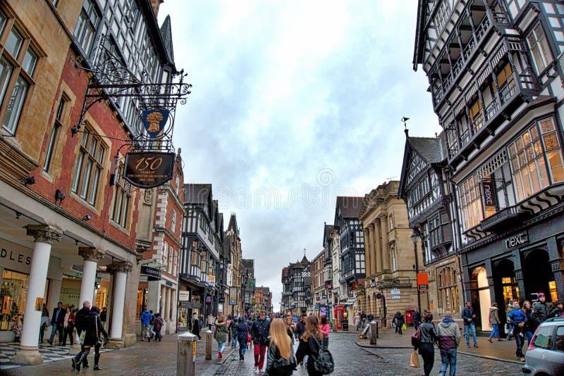 Chester Scenery immagine stock libera da diritti