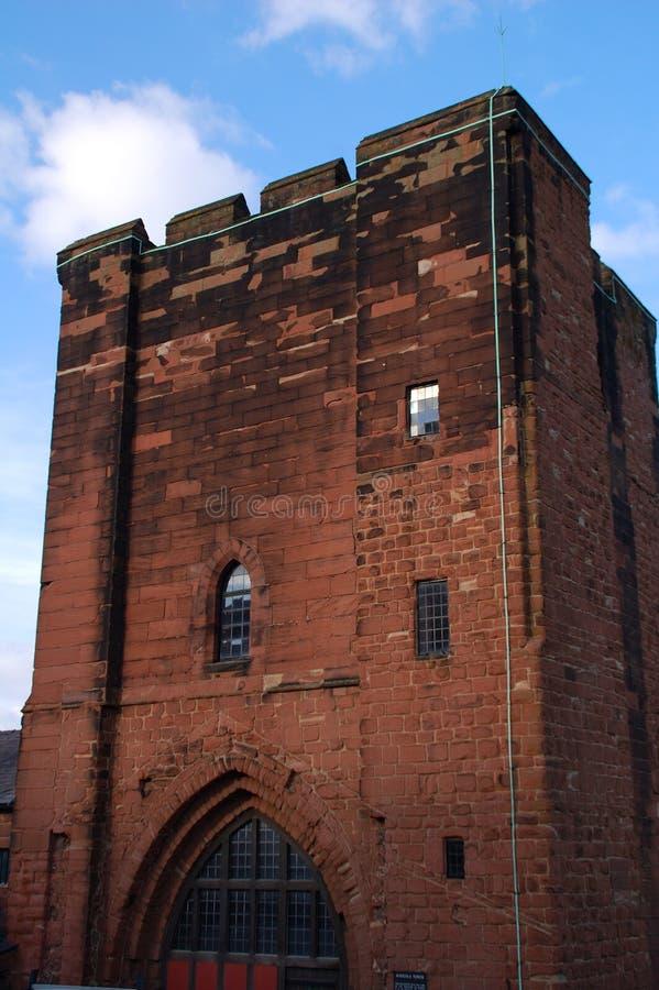 Chester-Schloss-Unterhalt lizenzfreies stockbild