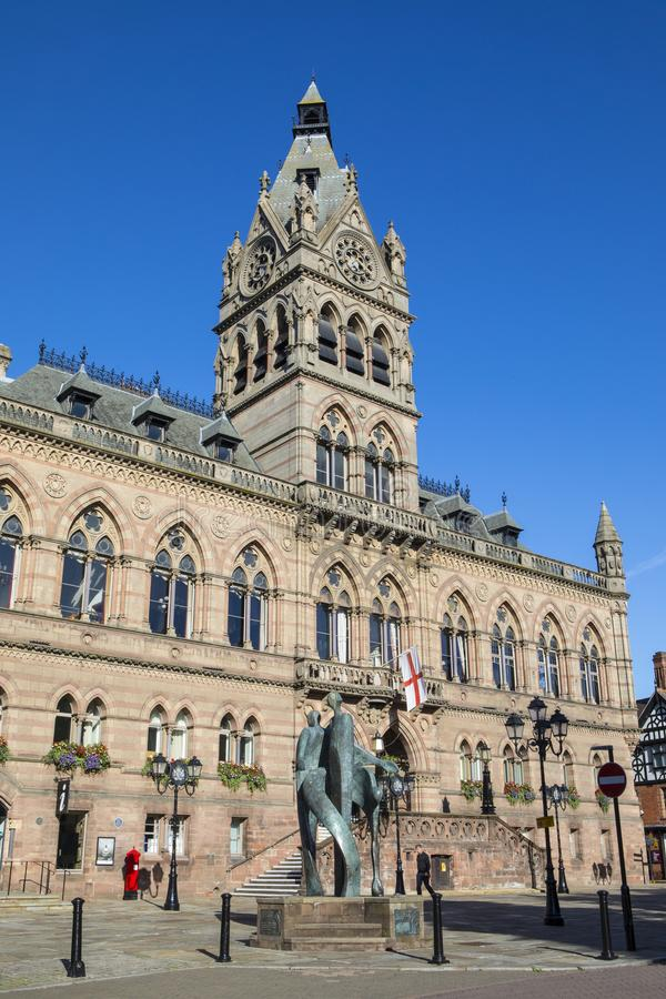 Chester Town Hall photographie stock