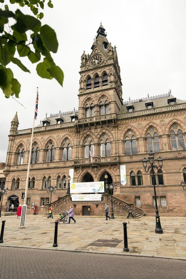 Chester Town Hall photos libres de droits