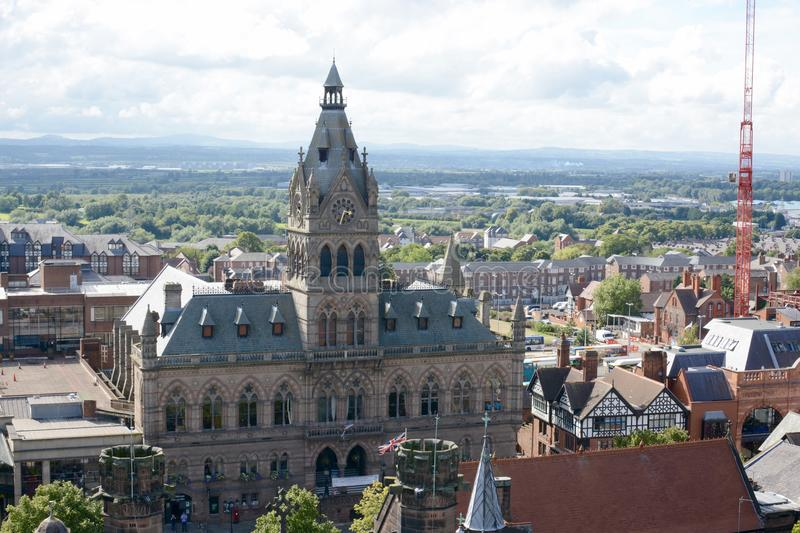 Chester Town Hall image stock