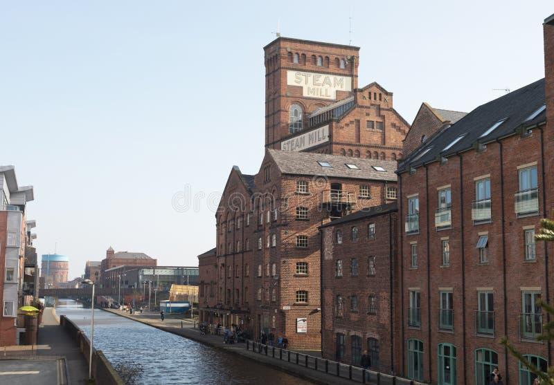 Chester Town Old Factory foto de archivo libre de regalías