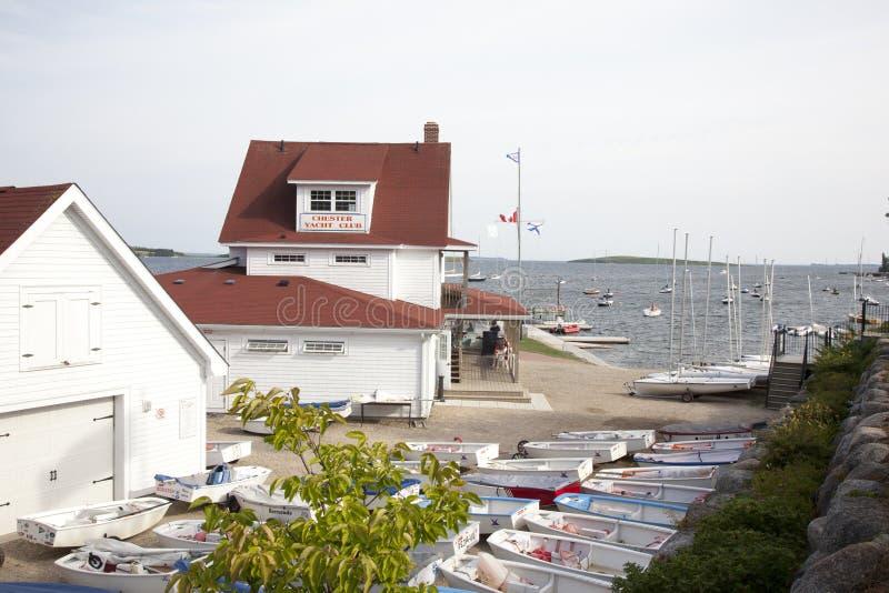 Chester Yacht Club royalty-vrije stock afbeeldingen
