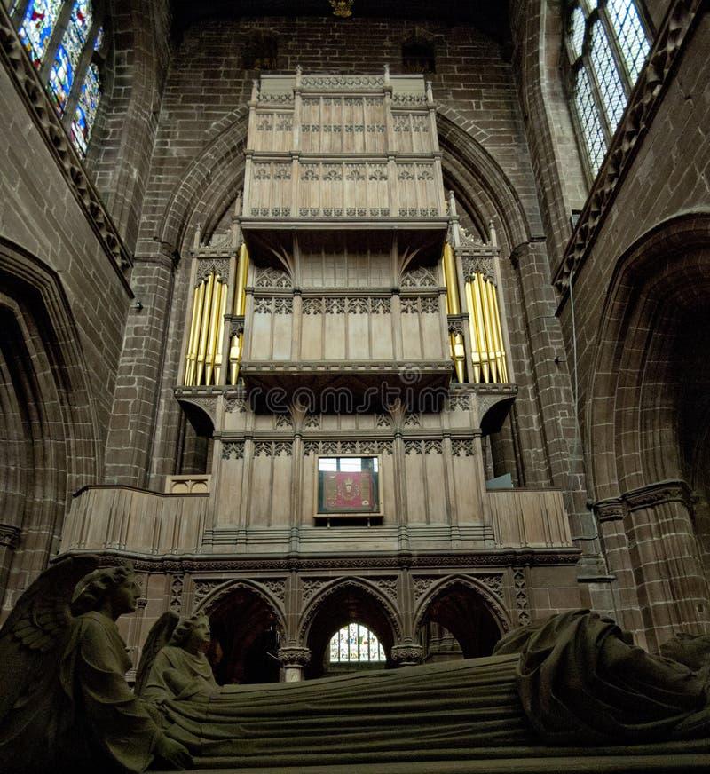 Chester-Kathedrale lizenzfreie stockfotos