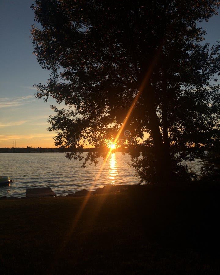 Chestermere jezioro obrazy stock