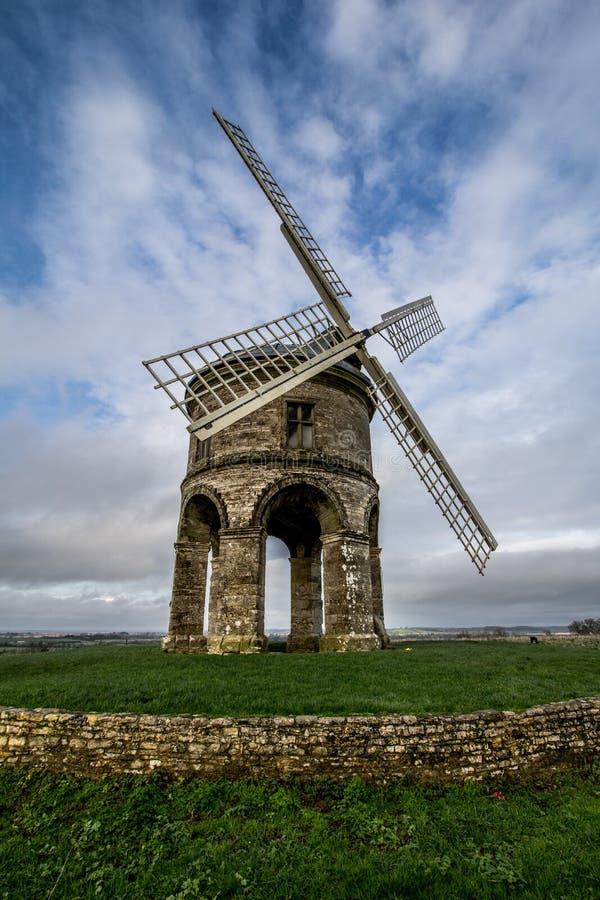 Chesterton windmill royalty free stock photo