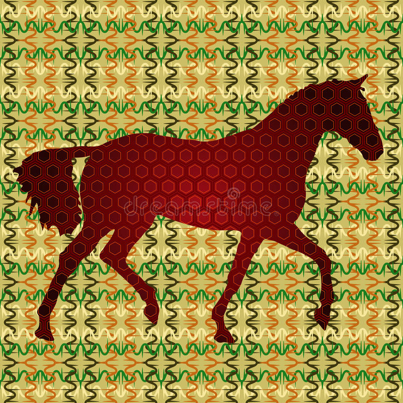 Chestnut Horse Royalty Free Stock Photo