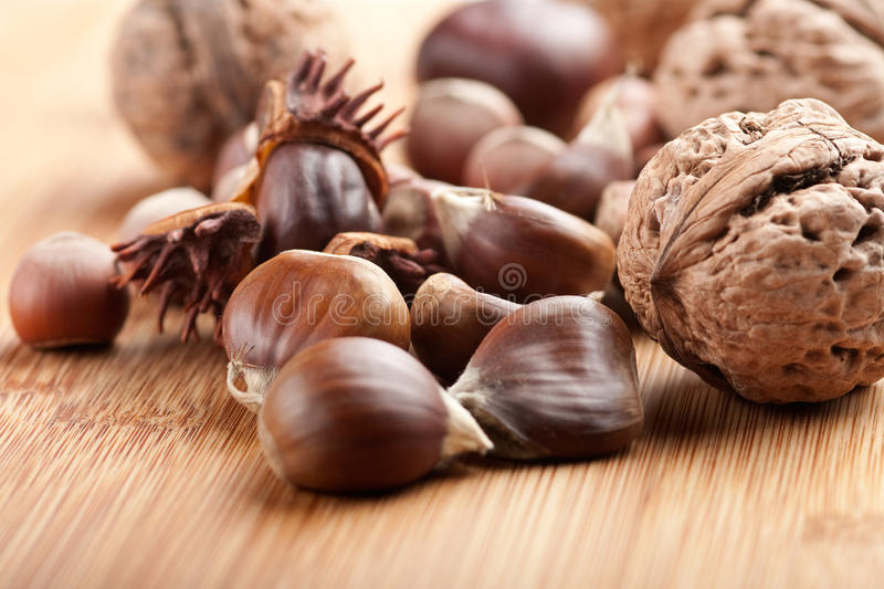 Download Chestnuts stock image. Image of season, sweet, autumnal - 12368033