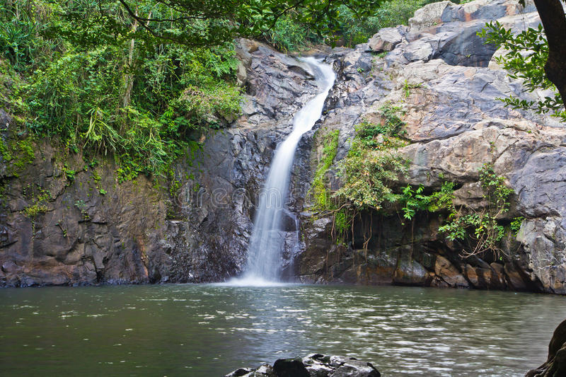 Chet Khot-Wasserfall, Thailand stockbild
