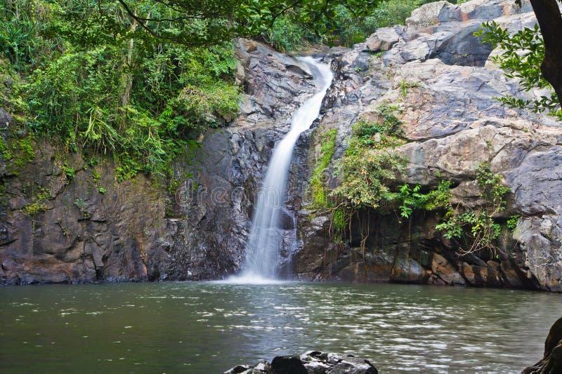 Chet Khot waterfall, Thailand. Chet Khot waterfall at Saraburi province of Thailand stock image