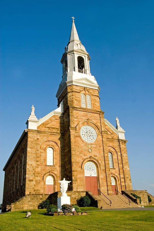 Cheticamp Church royalty free stock photos