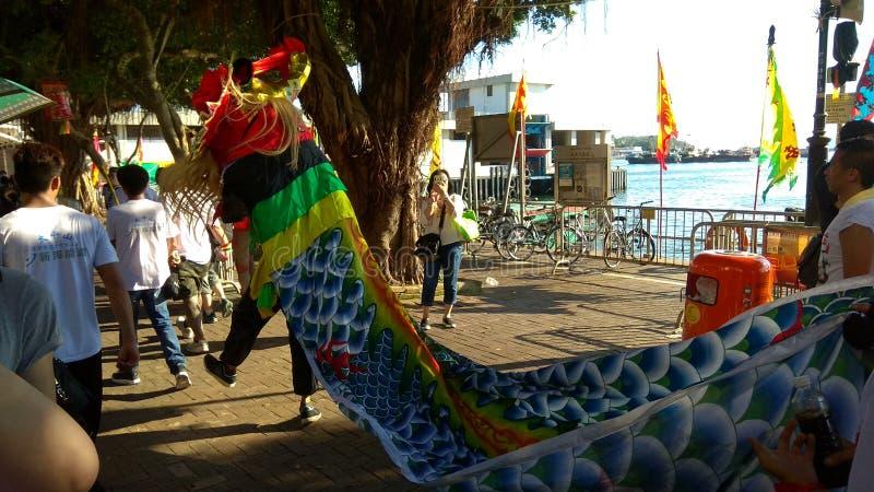 Cheung Chau Da Jiu Festival, Hong Kong stock images