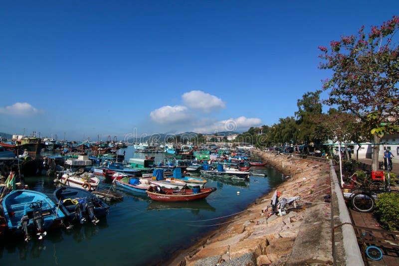 Cheung Chau Island royalty free stock photos