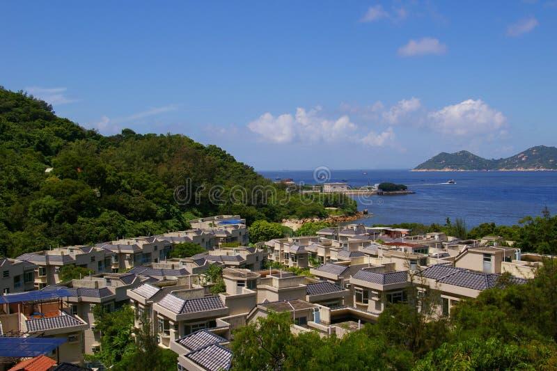 Cheung Chau sea view from hilltop, Hong Kong