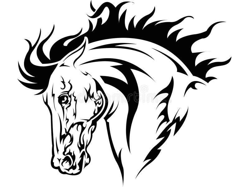 Cheval illustration stock