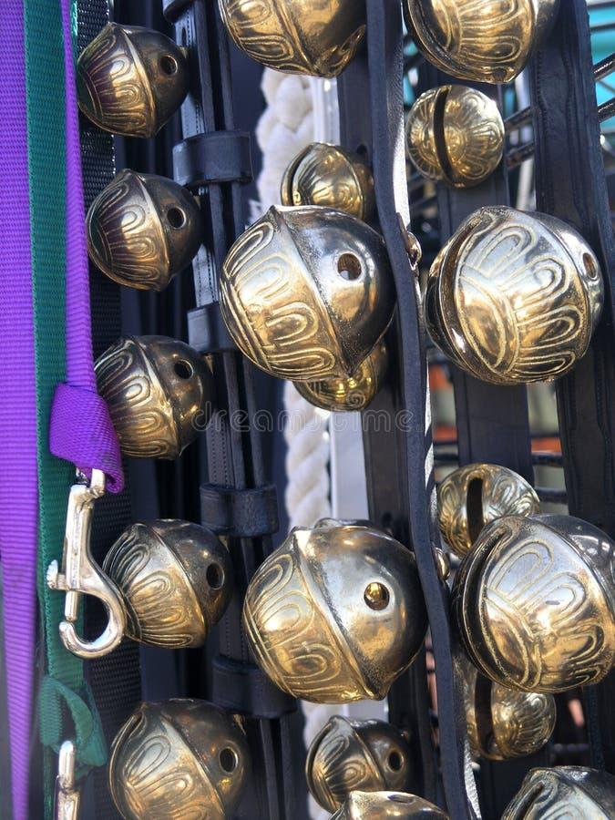 Cheval Bells photographie stock libre de droits