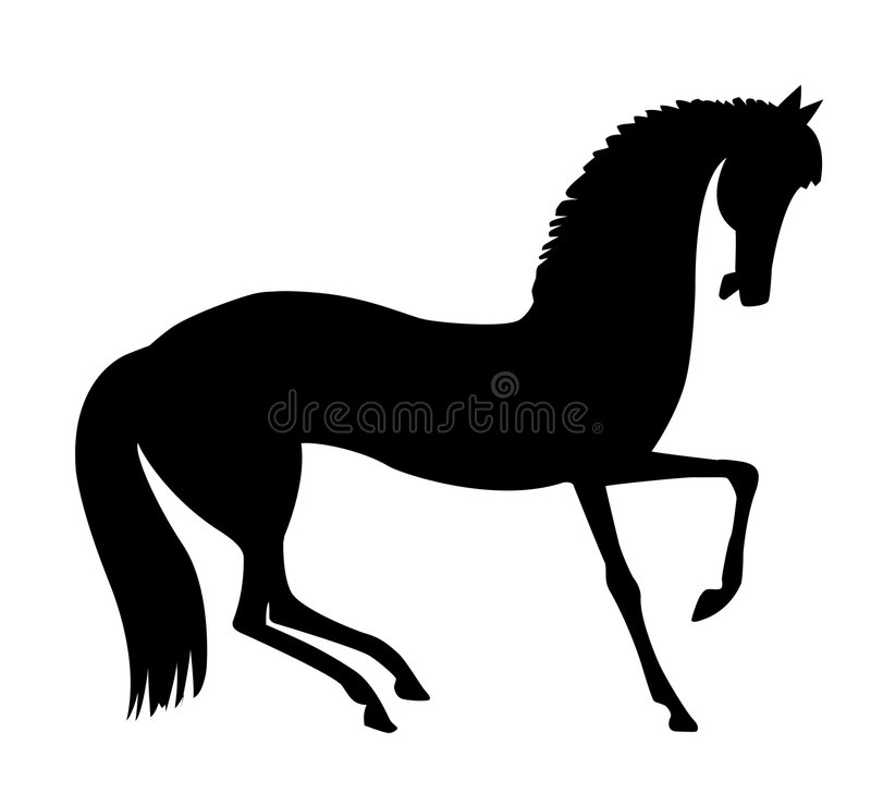 Cheval d'illustration illustration stock