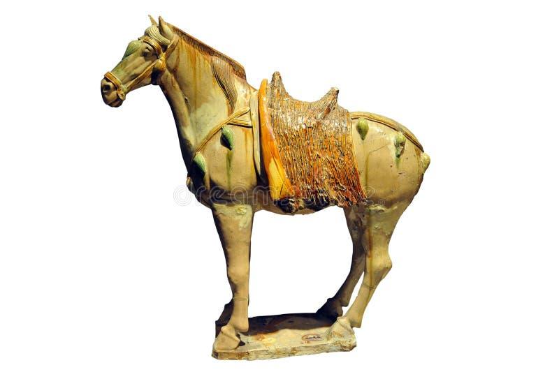 Cheval de poterie image stock