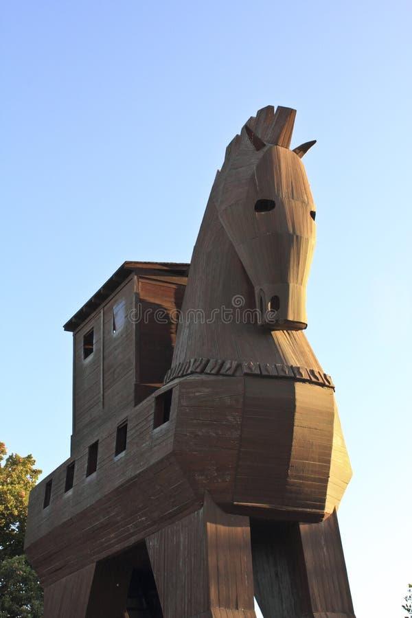 Cheval de Troia image libre de droits