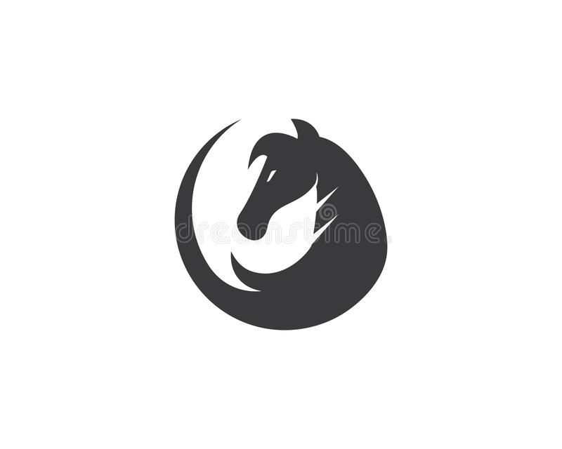 Cheval Logo Template illustration stock