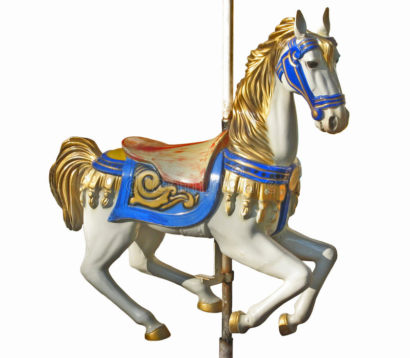 cheval s de carrousel illustration stock