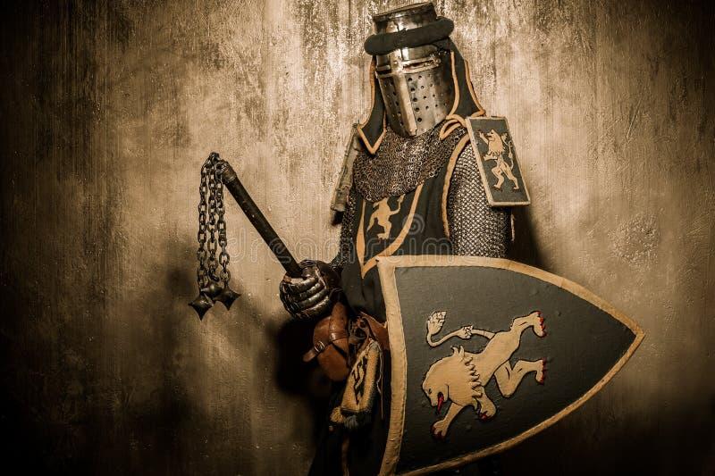 Chevalier avec le macis photo libre de droits