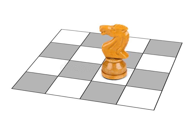 Chevalier d'échecs photo stock