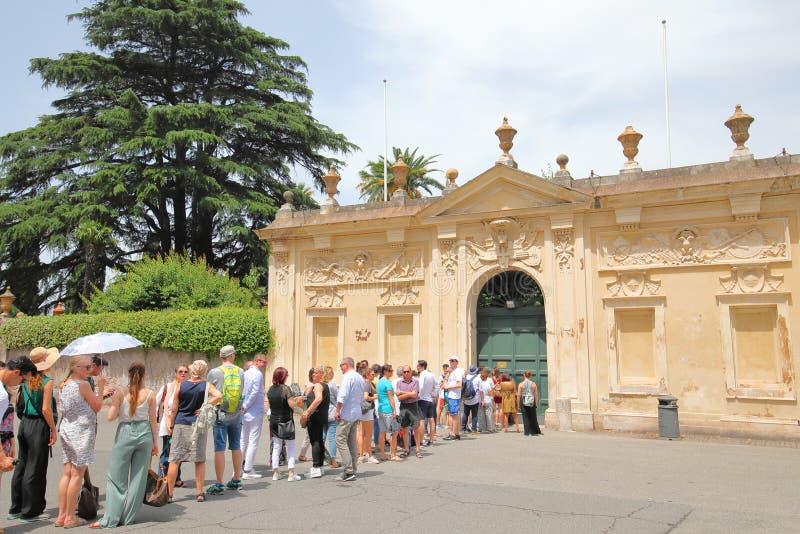 Chevalier de Malte Keyhole Rome Italie photo libre de droits