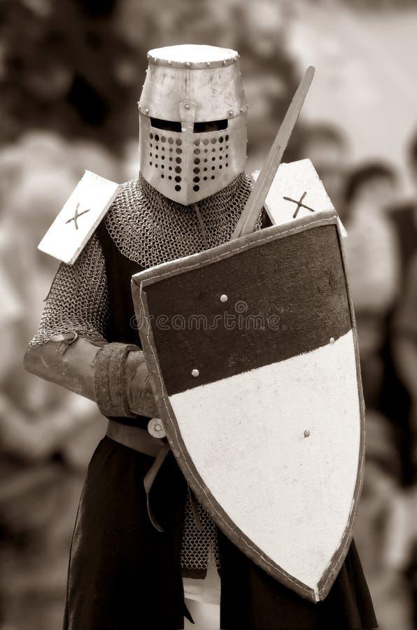 Chevalier de siècle moyen. photo libre de droits