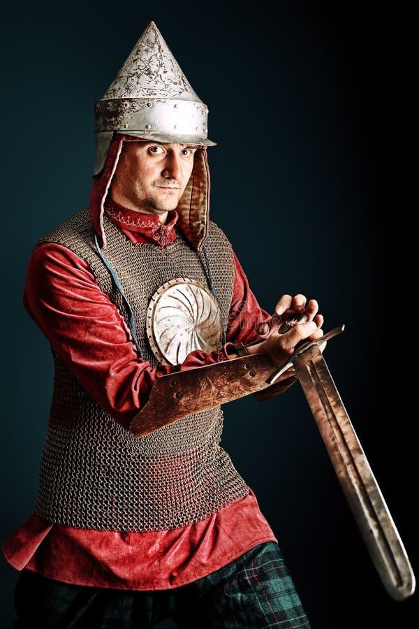 Chevalier médiéval photo libre de droits