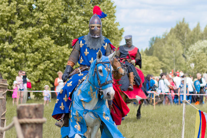 chevaliers image libre de droits