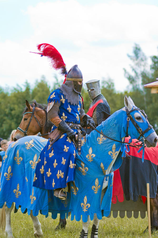 chevaliers photos libres de droits