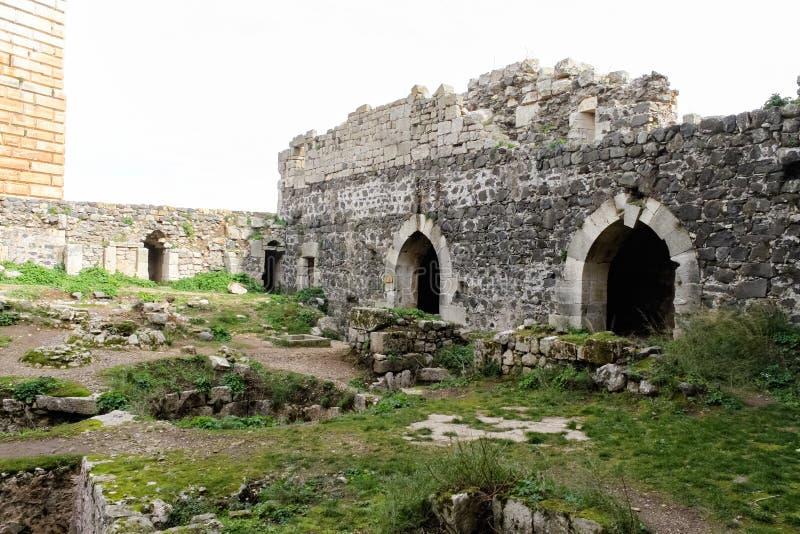 Chevaliers del DES de Krak, Siria foto de archivo libre de regalías