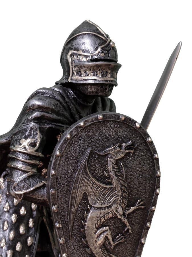 Chevaliers et armure photos stock