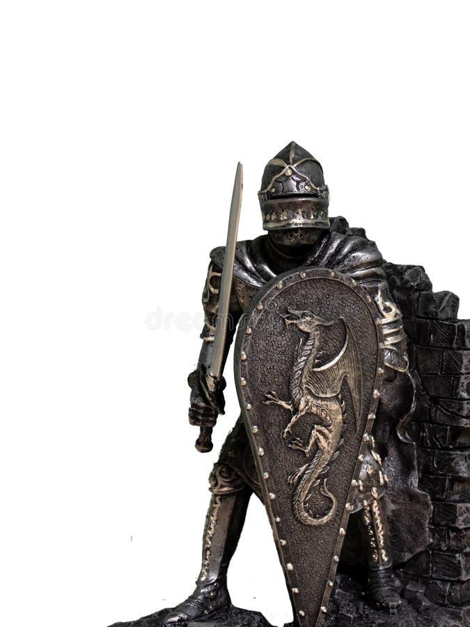 Chevaliers et armure photos libres de droits