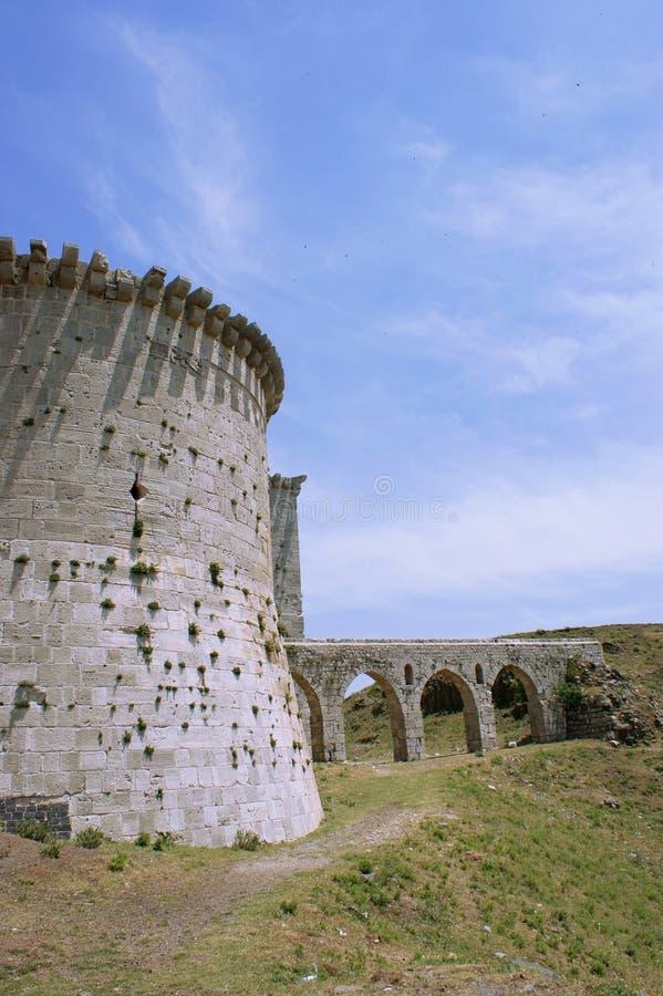 chevaliers krzyżowów des forteczny krak Syria obraz royalty free